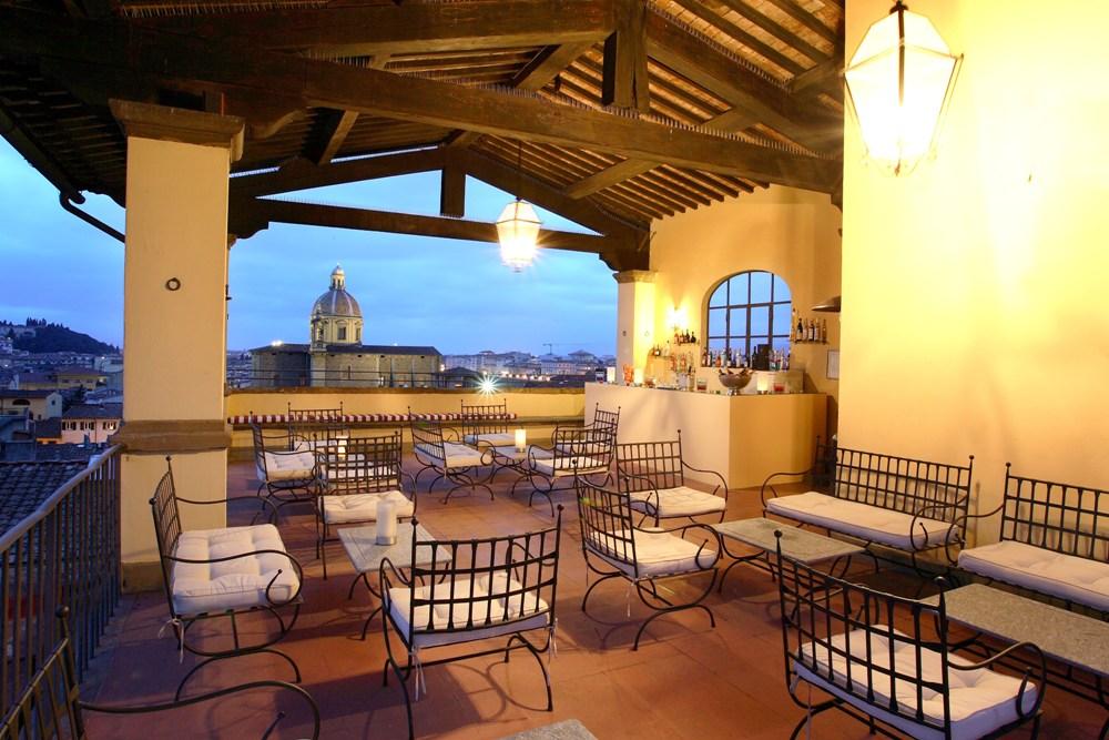 屋頂陽台/Palazzo Magnani Feroni/佛羅倫斯/義大利