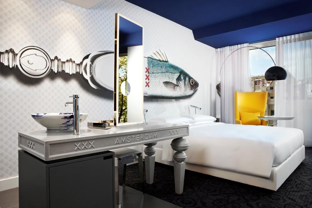 魚頭造型/客房/Andaz Amsterdam Prinsengracht/阿姆斯特丹/荷蘭