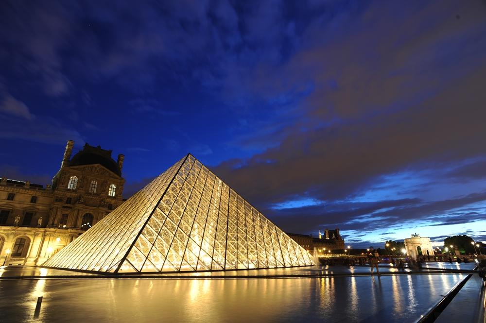 金字塔/羅浮宮/法國