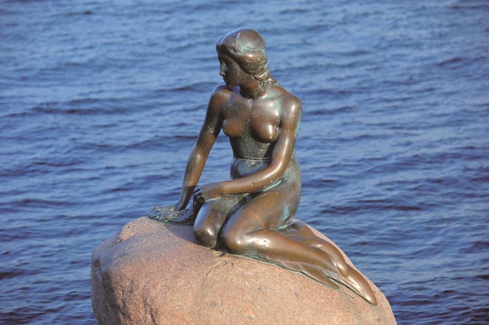 雕像/愛德華·艾瑞克森/美人魚/歐洲