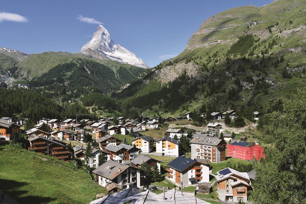 馬特洪峰/阿爾卑斯山/瑞士