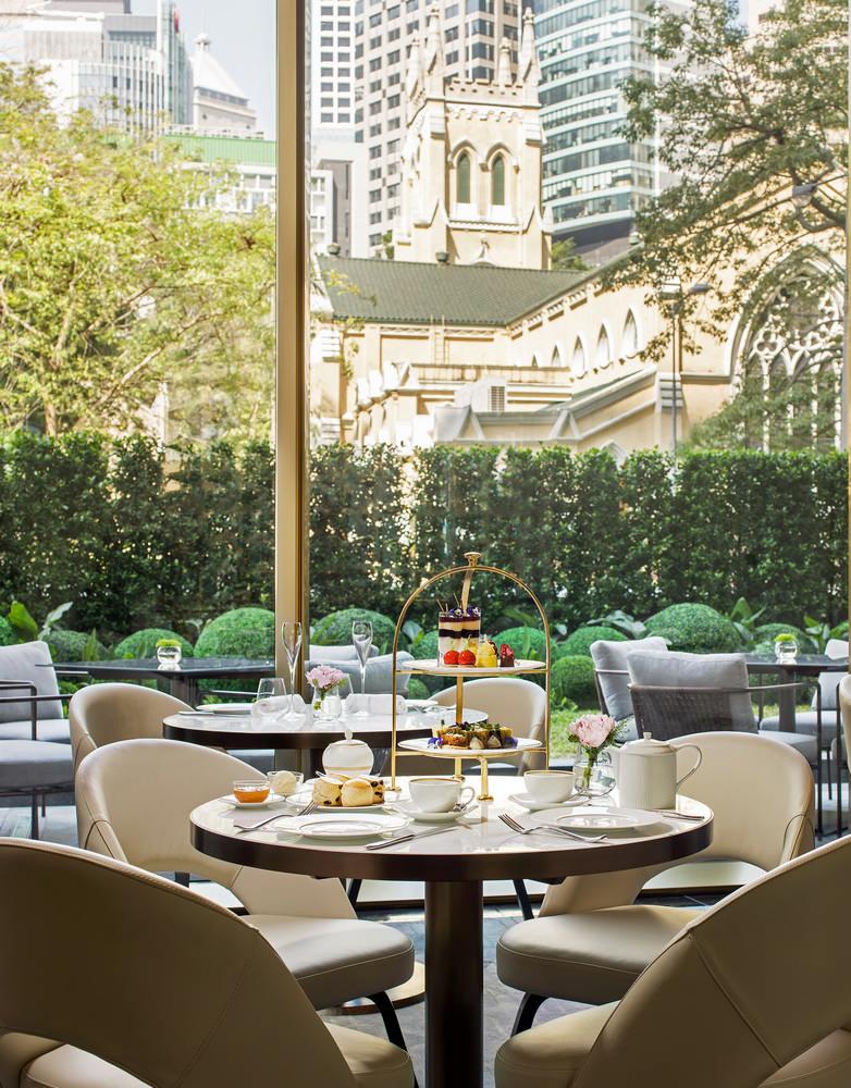 港島英式下午茶/港島酒店/香港美利/The Murray/維多利亞港