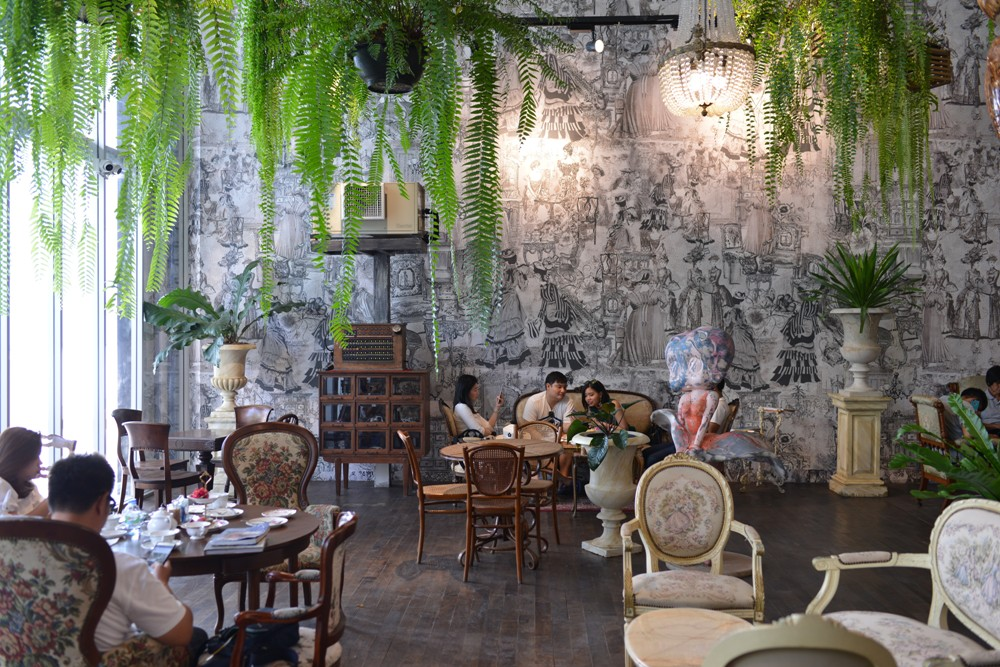 The' Tea House/外部空間/裝置藝術/紅鶴/紅鶴/華欣/泰國