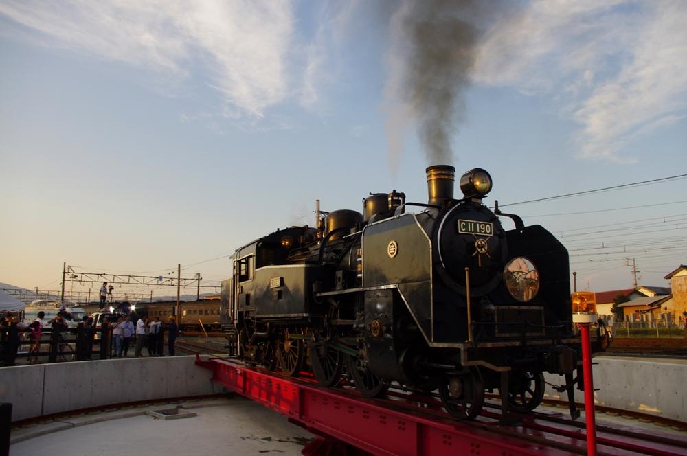 蒸汽火車/大井川鐵道SL蒸氣機關車/日本