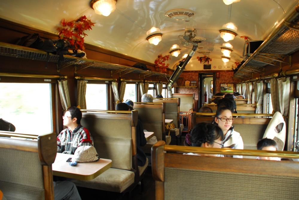 溫暖色調/SL蒸汽火車NISEKO號/北海道/日本
