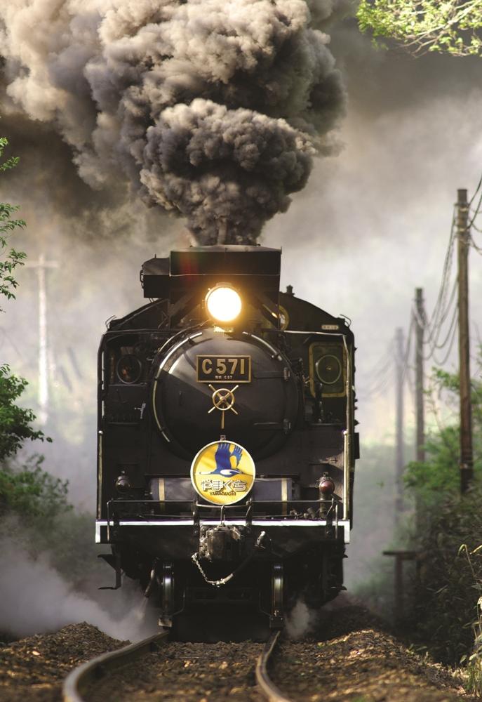 蒸汽車頭/SL山口號/山口縣/日本