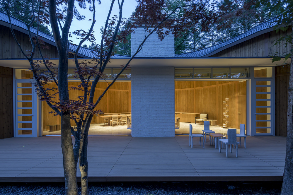 坂茂/輕井澤/長野/Shishi-Iwa House/綠建築/日本