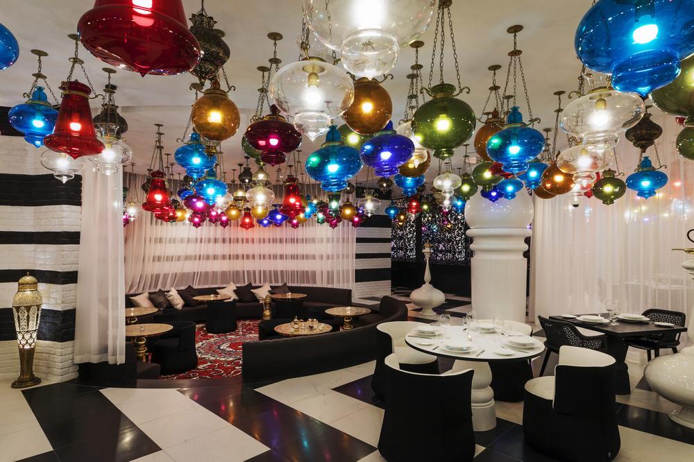 中東奢旅/Mondrian Doha/杜哈/Marcel Wanders/Walima/餐酒吧