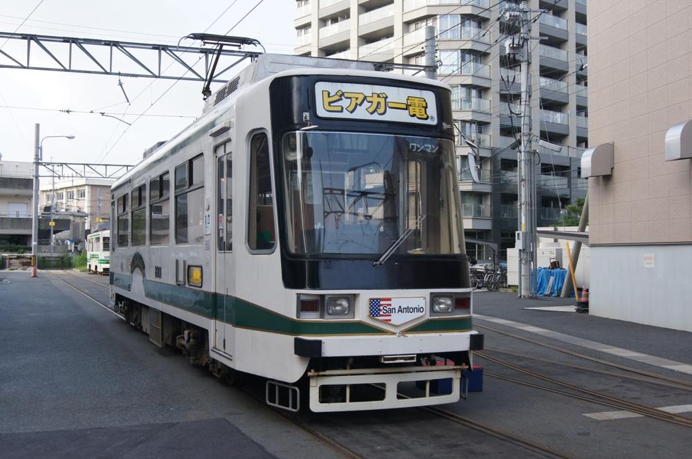 外部/啤酒電車/熊本市/日本