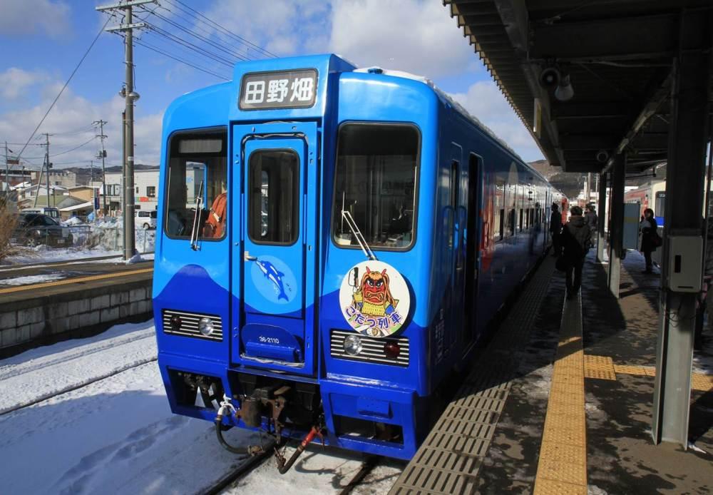 暖桌列車/三陸鐵道/日本