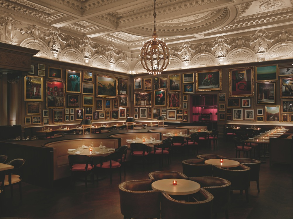 飯店餐廳/The London EDITION/倫敦/英國