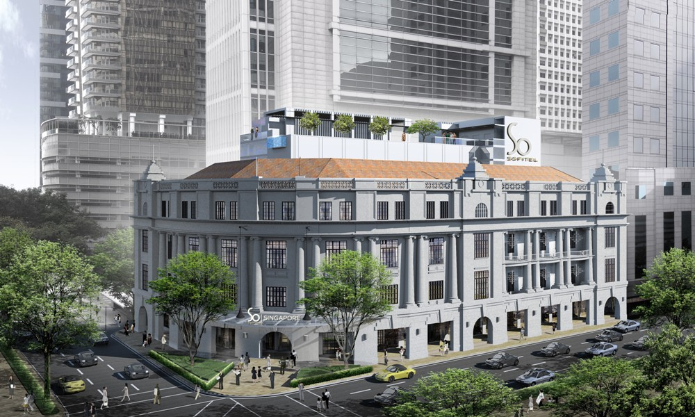 飯店外觀/Sofitel So Singapore/新加坡
