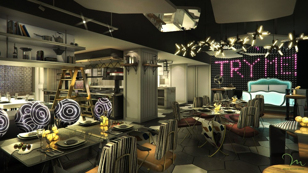 酒吧/Sofitel So Singapore/新加坡