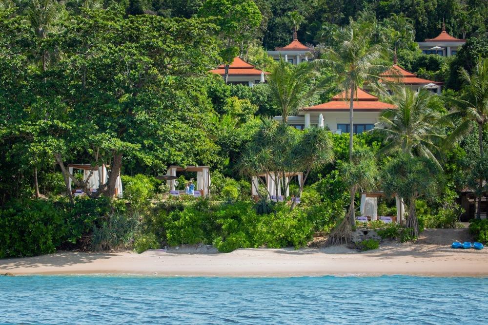 Trisara/Cabanas/私人海濱/豪華遊艇/普吉島/泰國