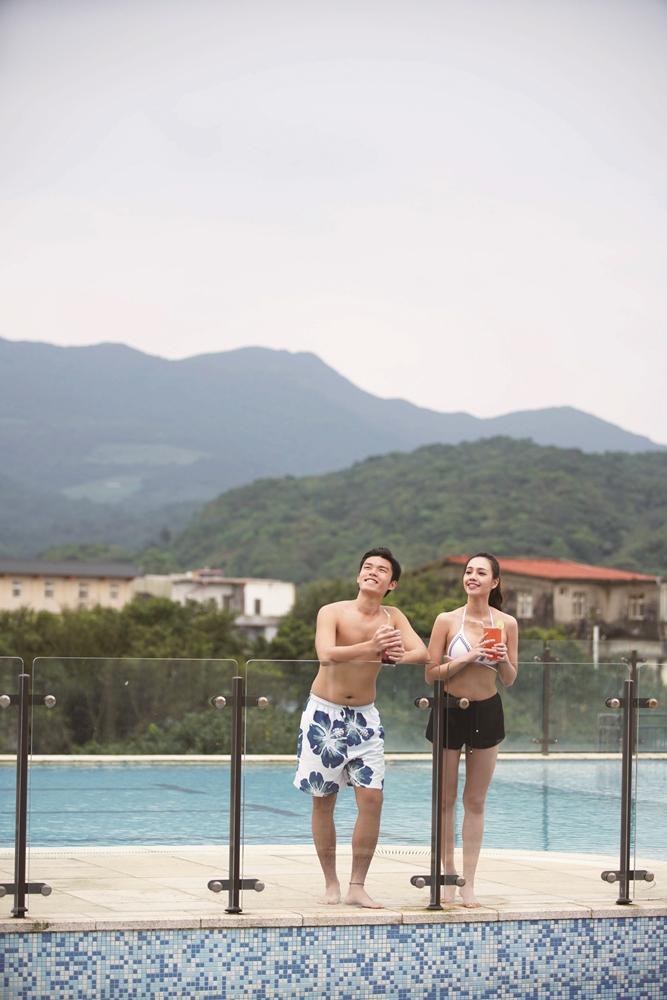 泳池畔/福容大飯店/福隆/北台灣