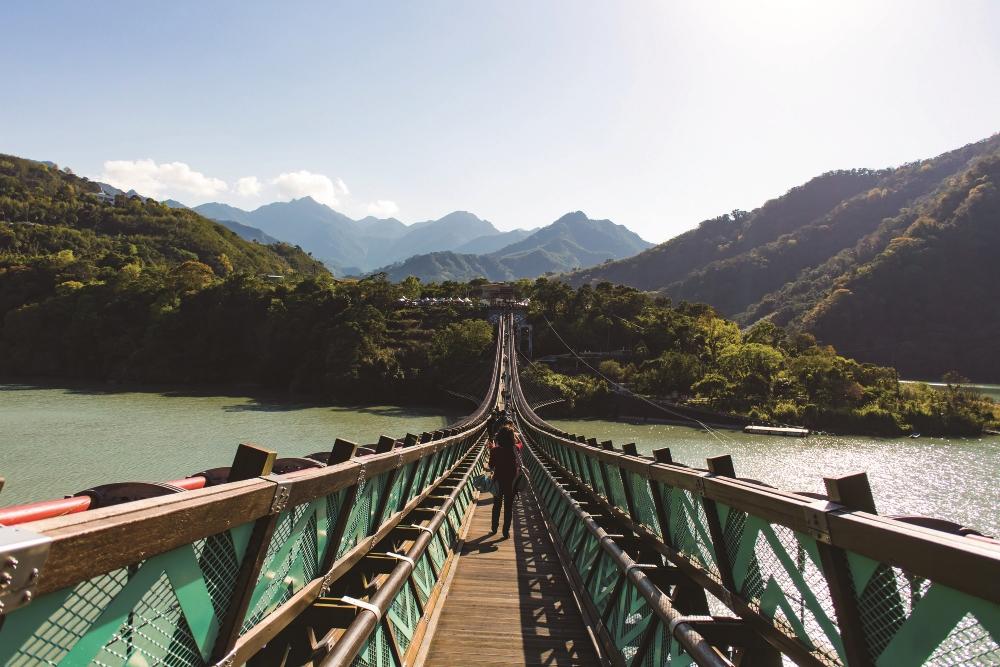 溪口吊橋/宇內溪/桃園/台灣