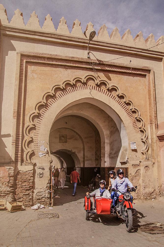 北非世界遺產古城馬拉喀什 訂製馬拉喀什邊車旅行 Marrakech Sidecar Journeys
