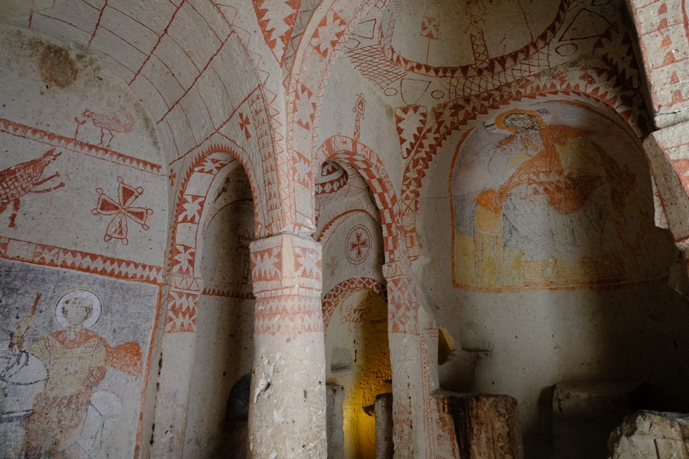 居勒梅戶外博物館/圓弧穹頂/卡帕多奇亞/土耳其