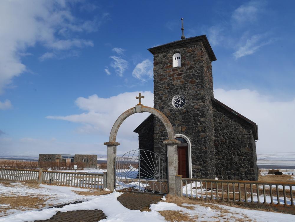 第一座石頭教堂/辛蓋拉教堂/冰島