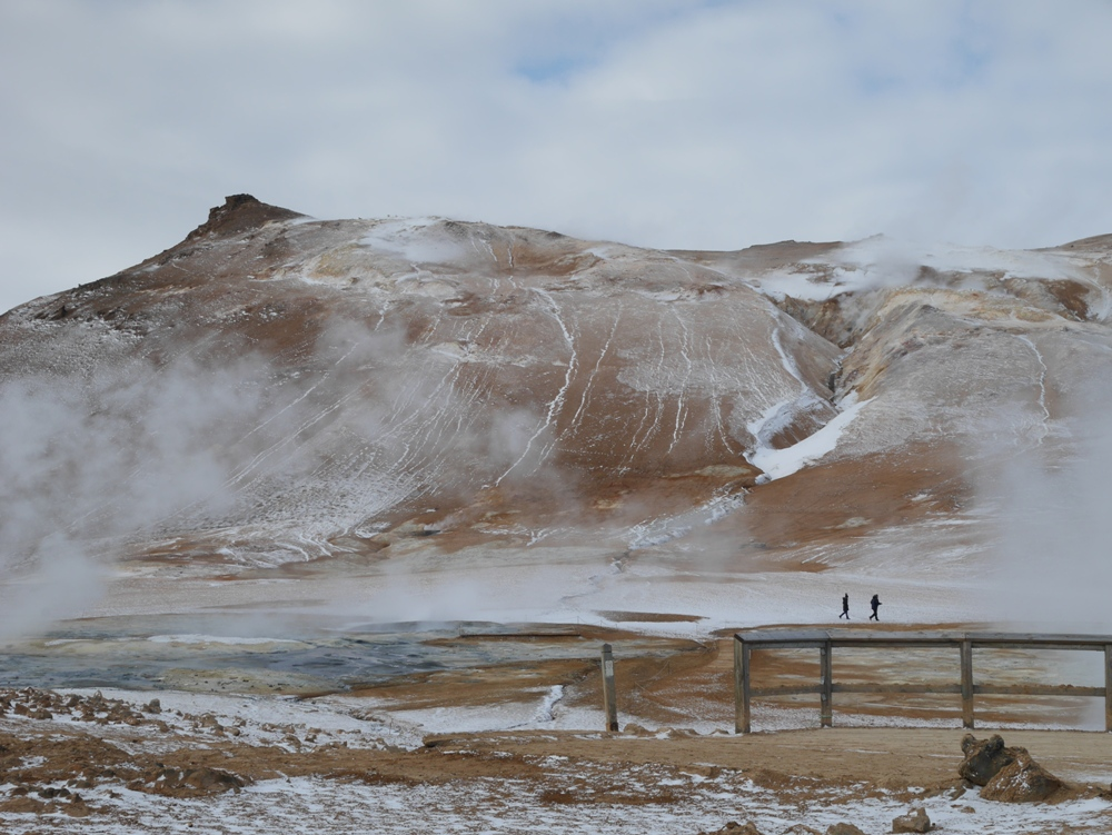 地熱景觀/哈維爾地熱谷/冰島