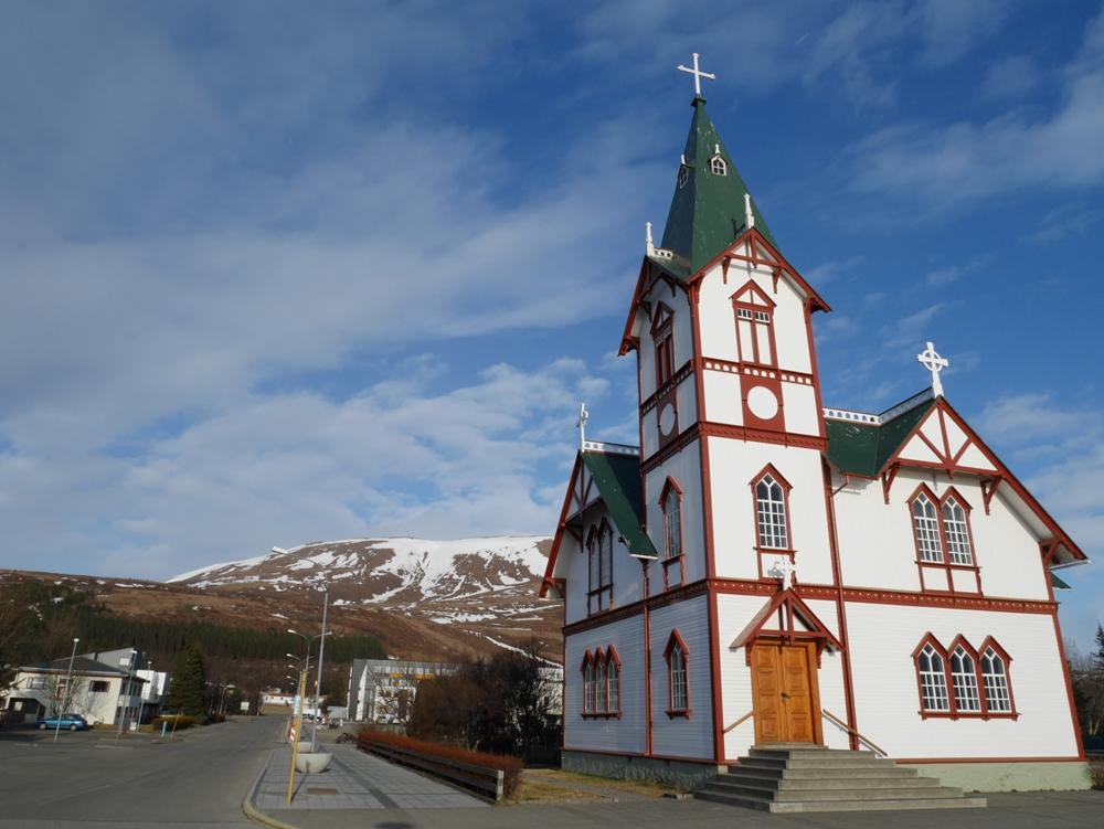 胡沙維克教堂/胡沙維克/冰島