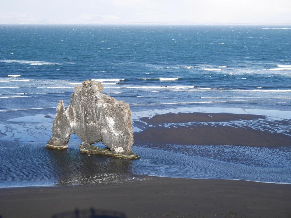 象形岩/瓦斯納斯半島/冰島
