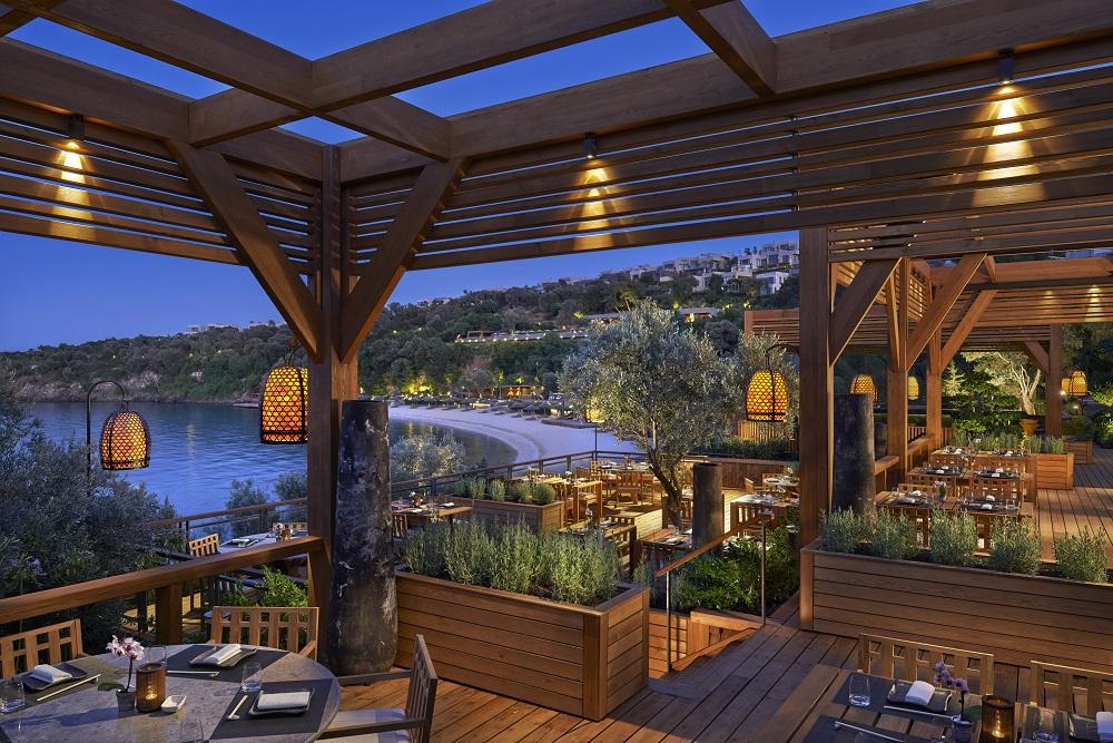 Mandarin Oriental Bodrum餐廳/Paradise Bay/土耳其