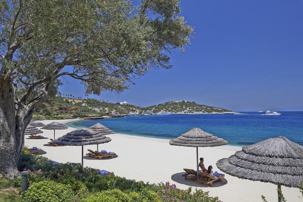 Mandarin Oriental Bodrum海灘/Paradise Bay/土耳其