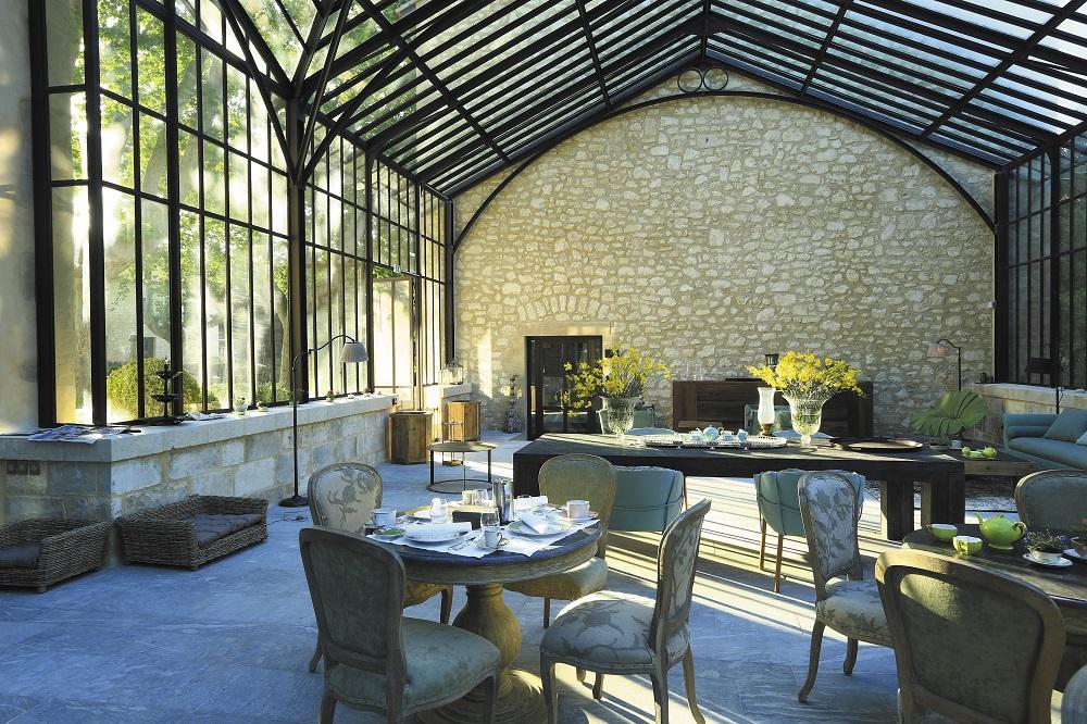 餐廳/Domaine de Manville/Les Baux de Provence/France