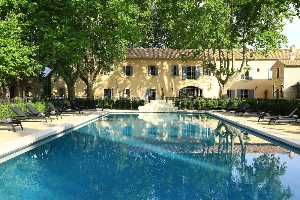 游泳池/Domaine de Manville/Les Baux de Provence/Franc