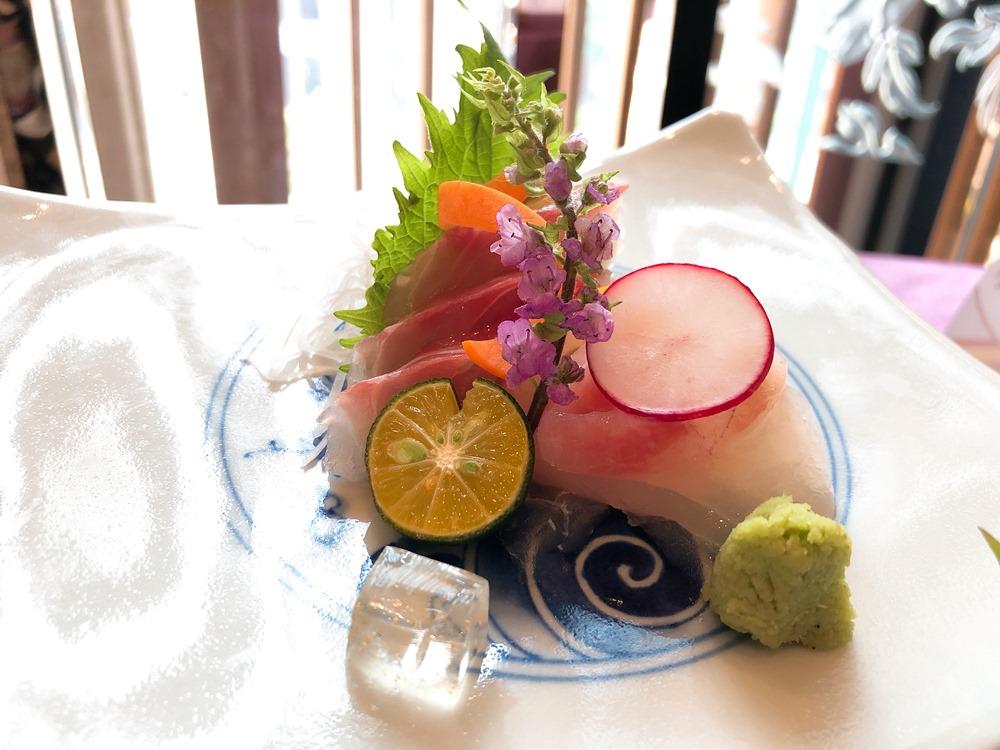 鯛魚生魚片/山里日本料理/台北大倉久和/大倉久和/三廚鼎立/台北美食/台北飯店