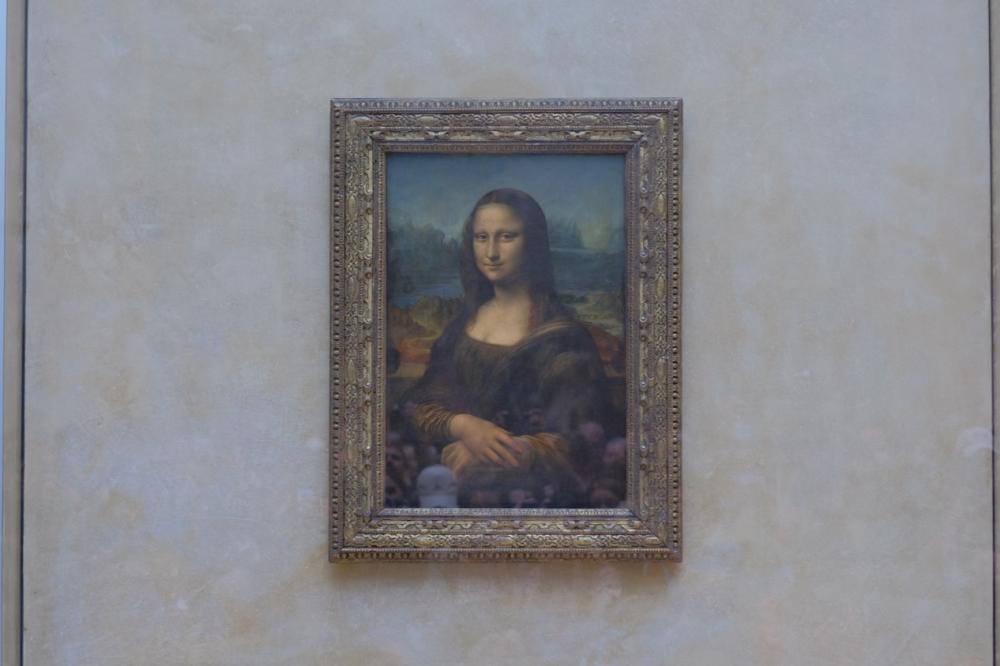 蒙娜麗莎/Mona Lisa羅浮宮/博物館/法國