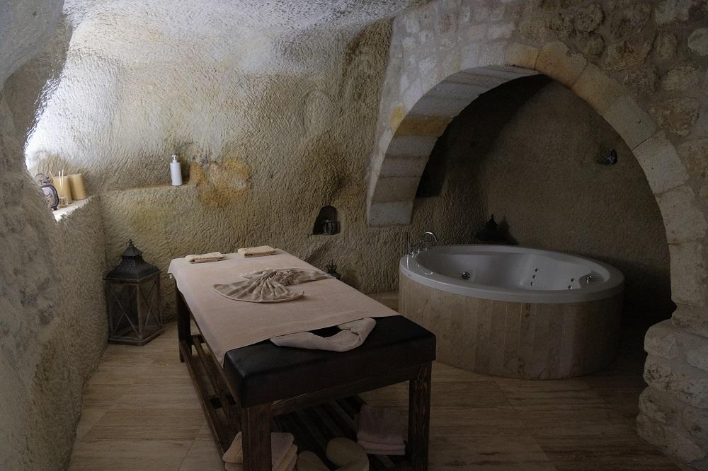 浴室/豪華按摩浴缸/Yunak Evleri/爾居普/土耳其