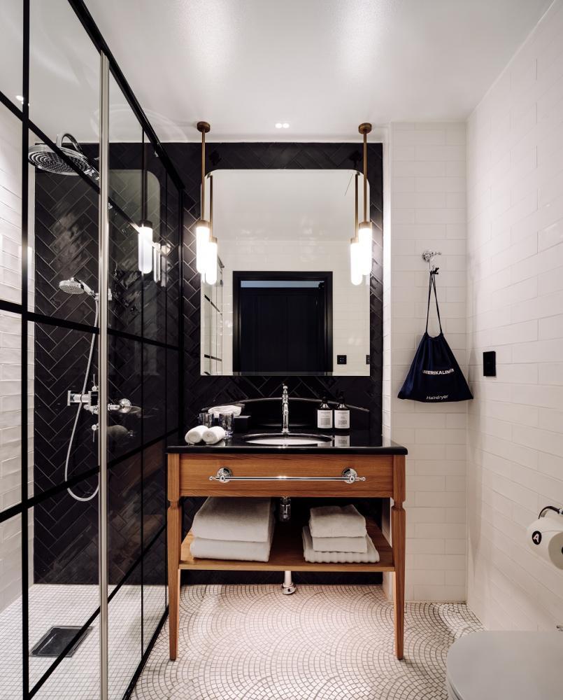 浴室/時尚簡約風/Amerikalinjen/奧斯陸/挪威