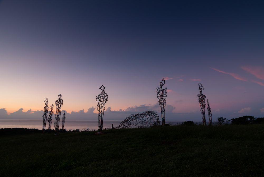 東海岸大地藝術節/駐地藝術作品/拉黑子/島嶼之影