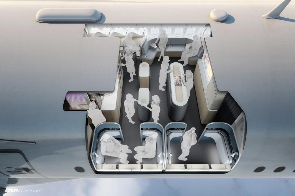 ULTRAFLEX/超長程航線/Aim Altitude/機艙設計