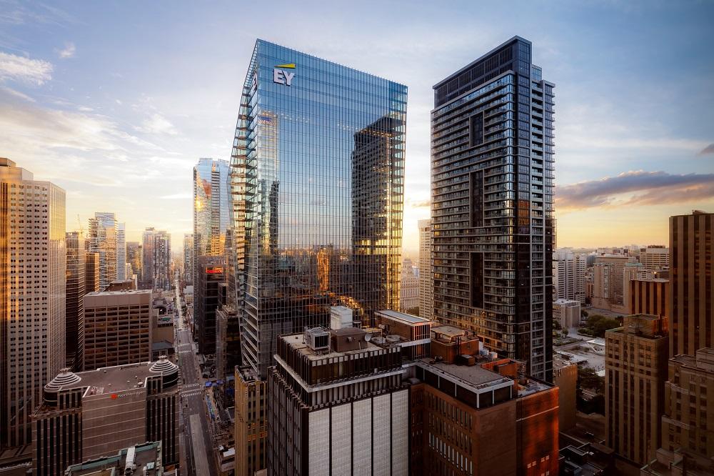 玻璃帷幕/The St. Regis Toronto/多倫多/加拿大