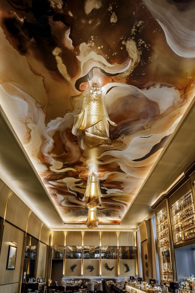 酒吧/天花板壁畫/The St. Regis Toronto/多倫多/加拿大