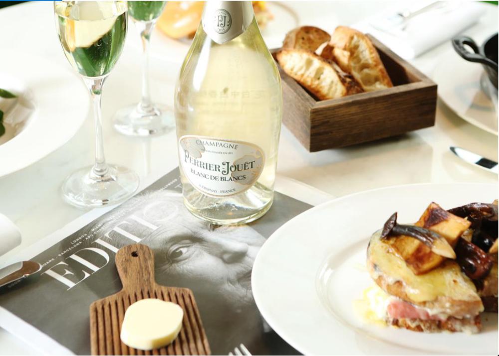 巴黎之花白中白香檳(Perrier-Jouët Blanc de Blancs)
