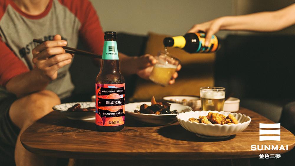 SUNMAI金色三麥辦桌拉格啤酒