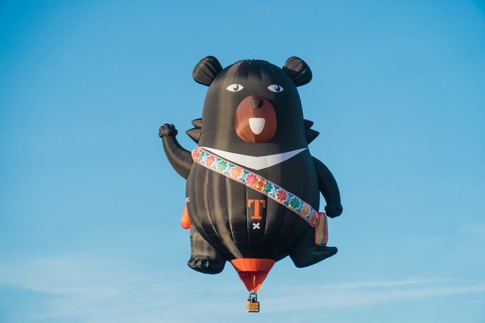 臺灣喔熊/熱氣球/台東熱氣球/台灣熱氣球嘉年華/台東/台灣