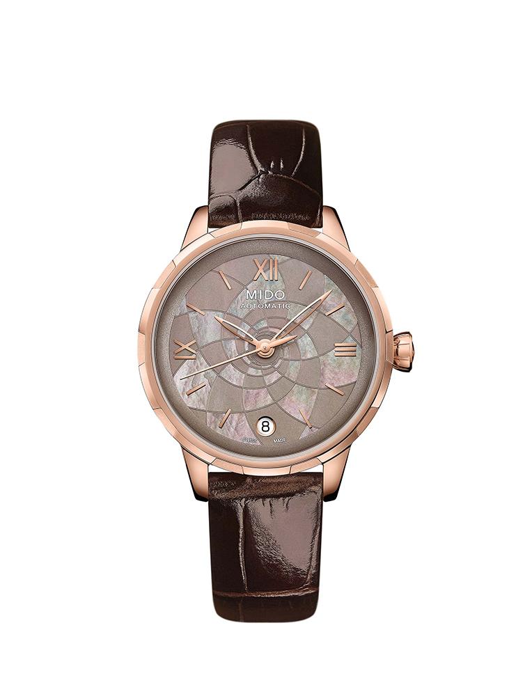 MIDO Rainflower花雨系列鑲鑽女錶
