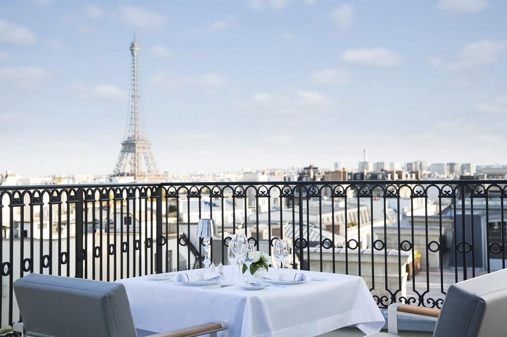 Peninsula Paris/用餐區/巴黎/法國