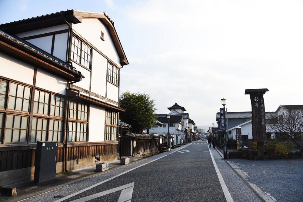 豆田町/大分/或る列車/日本鐵道