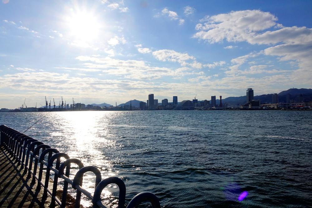 親子動物樂園/人工島線/港灣/神戶/日本