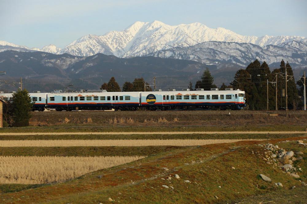 一萬三千尺物語/立山/富山灣/富山灣鮨/觀光列車/日本鐵道