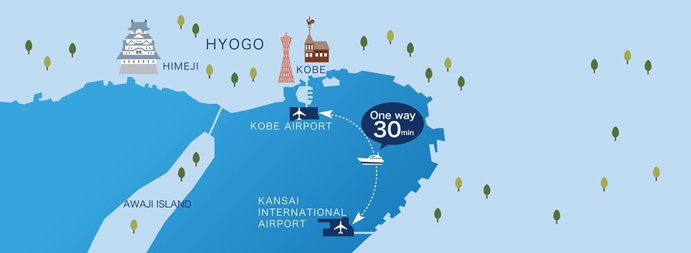 關西機場港灣交通船/Bay Shuttle /人工島線/港灣/神戶/日本