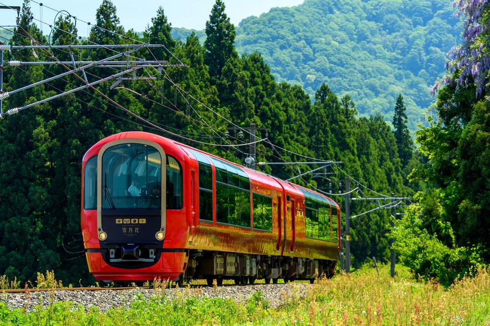 雪月花/上越/妙高/新潟/越後富士/觀光列車/川西康之/日本鐵道