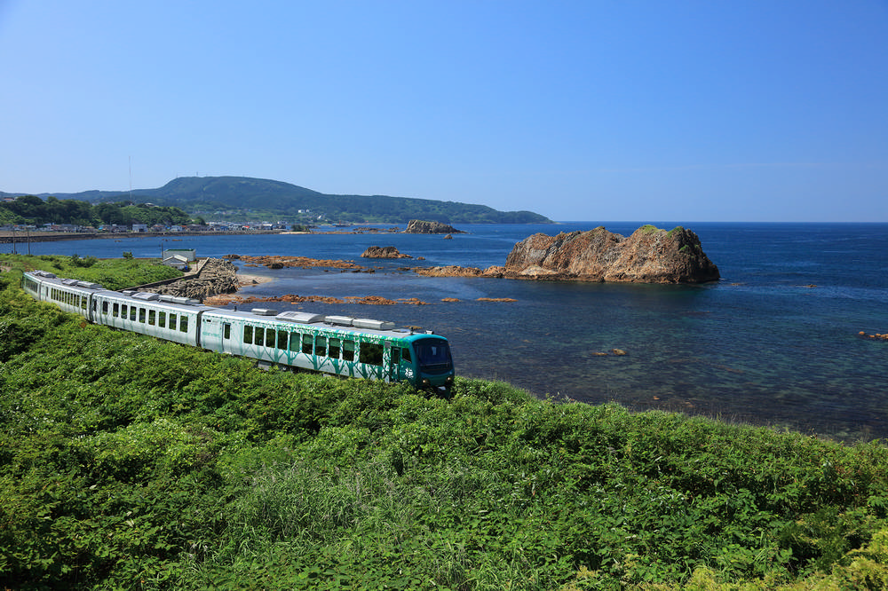 日本東北/日本鐵道旅行/JR東日本/五能線/日本海/秋田/青森