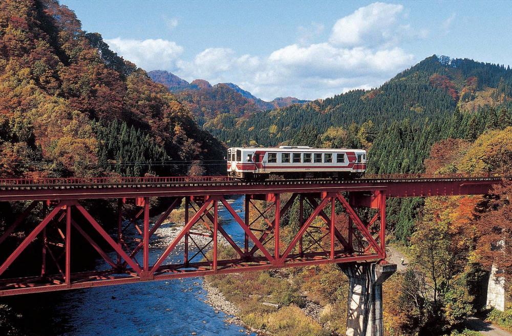 秋田內陸線/日本鐵道/秋田/微笑鐵道/日本東北